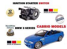 Pour BMW E46 CABRIO 318ci 320ci 323ci M3 3.2 330d 2000 - > COMMUTATEUR D'ALLUMAGE starter