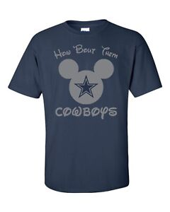 How 'Bout Them Cowboys Disney shirt Mickey Mouse Dallas Zeke Dak Size M