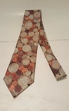 RALPH MARLIN COINS NOVELTY NECKTIE MONEY CHANGE MADE in USA - 1995 pre owned