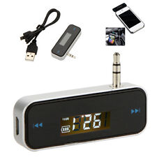 Wireless FM Transmitter Car Bluetooth Handsfree USB Charger for MP3 Smartphones