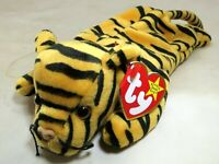 TY Beanie Baby Stripes Rare/Retired 1995 plush toy collection Bengal tiger