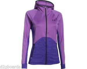 2016 NWOT Under Armour UA Abney Womens Jacket S Small Mega Magenta jx32