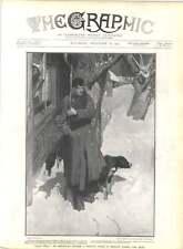 1905 Sentinella fuori casa privata a Mosca, durante le sommosse