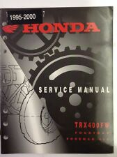 Honda ATV Service Manual '95-'00 TRX400FW FOURTRAX FOREMAN 400
