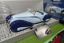 DELAHAYE TYPE 135-M Cabriolet de 1937 bleu au 1/18 Minichamps 107116160 voiture