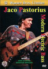 Jaco Pastorius MODERN ELECTRIC BASS imparare a giocare TECNICHE CHITARRA MUSICA DVD