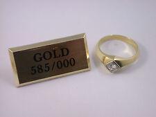 klassischer Solitär Brillantring Gold - 0,40 Carat