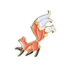 Badge for Shirt Lapel Backpack Hat Little Fox Enamel Pin Custom Animal Brooch