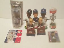 CHICAGO CUBS BOBBLEHEAD LOT (9)