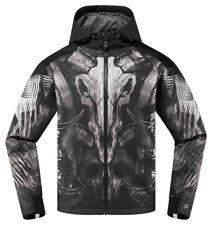 ICON MotoSports MERC CLOVEN Textile Motorcycle Jacket (Black) XL (X-Large)