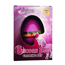 Magic Hatching Unicorn Egg Growing Pet Growing Animal Hatch Water Toy
