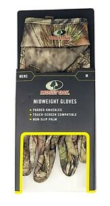 Mossy Oak Breakup Country Men's Mid Weight Gloves Med Touch-Screen Compatible