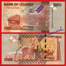UGANDA 1000 Shillings 2017 Pick nuevo  SC / UNC