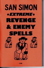 SAN SIMON EXTREME REVENGE & ENEMY SPELLS book by S. Rob occult magic