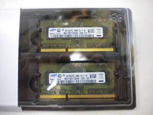 4GB 2x2GB DDR3 Memory Apple MacBook Pro 13 15 17 2010 2011 2012 Mac SODIMM RAM