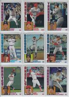 2019 Topps Series 1 - '84 SILVER PACK CHROME Inserts U Pick & Complete Your Set