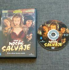 DVD UNA NOCHE SALVAJE - CLAUDIA SCHIFFER - PAGET BREWSTER - TRIPICTURES - RARE