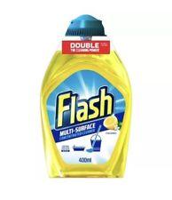 Flash Multi-Surface Crisp Lemons Concentrated Cleaner 400ml