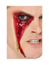 Zip Face Scar Latex Make Up Special FX Halloween Horror