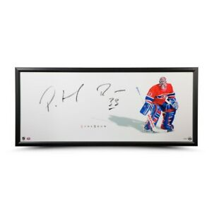 Patrick Roy Signed Autographed 20X46 Framed Photo The Show Canadiens UDA