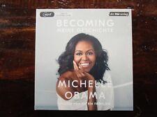 """Michelle Obama """"BECOMING - MEINE GESCHICHTE"""",2 mp3-CDs,ungekürzt,OVP,ohne Porto"""