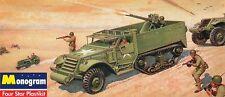 2014 revell Monogram 85-0034 SSP 1/35 Armored Half Track Plastic Model Kit