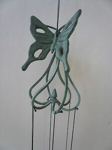 Wind-chimes Cast Iron with Butterfly Design by SPI