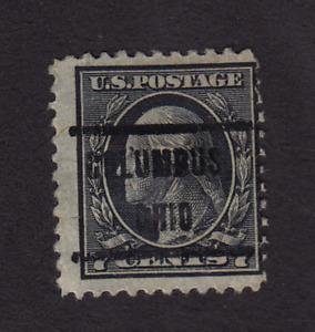 Precancel 7 cent Washington Columbus, OH Stamp *0040