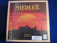 Die Siedler Von Nurnberg German/English Kosmos game 1999 Factory Sealed