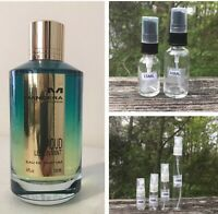 Mancera Aoud Lemon Mint Sample Decant 2ml 3ml 5ml 10ml 15ml 30ml Spray