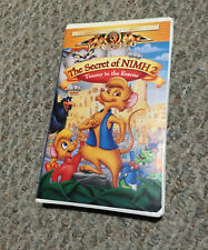 The Secret of NIMH 2: Timmy to the Rescue (VHS, 1998)
