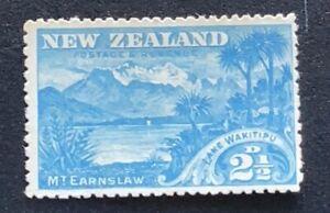 New Zealand 1898 Pictorials 2 1/2d Wakitipu - Mint no Gum