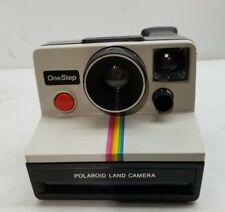 POLAROID One Step Instant Film Land CAMERA - funky retro rainbow NICE