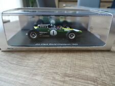 SPARK S1614 1:43 LOTUS 33 CLIMAX J. CLARK GERMAN GP WINNER WORLD CHAMPION 1965