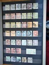 Japan, China, kl. Lot, gestempelt, Kaiserreich, 1883 -1889 -1902, 69 Werte, alt
