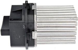 HVAC Blower Motor Resistor Front Dorman 973-105