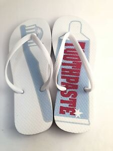 Dentist Themed Flip Flop Thongs Toothbrush Toothpaste Haviana Style Soft