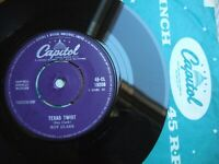 "ROY CLARK - TEXAS TWIST -  UK 7"" CAPITOL 45-CL 15288 / 1962 IN CO.SLEEVE EX !"