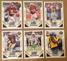 Marcus Mariota Jameis Winston Cooper 2015 Score Draft Town Chicago Set of 6 RC s