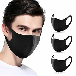 15/30PCS ANTI-FOG FACE MOUTH COVER  FILTER RESPIRATOR BREATHABLE CHARI