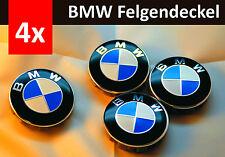 NEU-2017*-4x für bmw 68  Blau weiss FELGENDECKEL RADKAPPEN EMBLEM neues Design