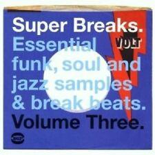SUPER BREAKS VOL.3  CD NEW+