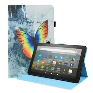 """Leather Magnetic Stand Case Cover For Amazon Fire HD 10 Plus 2021 10.1"""" Tablet"""