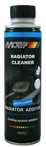 MOTIP 090621 Radiator Cleaner 300 ml. Cleans the Complete Cooling System 300ml.
