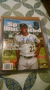 Andrew McCutchen Sports Illustrated (Autographed) (Steiner Sports COA)