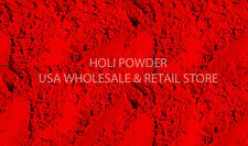 BUY 3 GET 1 FREE  1lb Holi Color Powder RED Colour Festival USA  Seller
