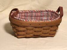 Longaberger Knick Knack Basket Combo Signed by Mary Longaberger
