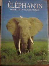 Eléphants Portraits du monde animal/ Leonard Lee RueIII/ PML éditions 1994