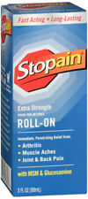 Stopain Extra Strength Pain Relief Roll-On, 3 Ounce