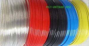 6X4MM Polyurethane Flexible Tubing Pneumatic PU Compressed Air Line Pipe  Tube